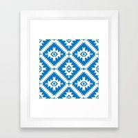 NavNa Blue Framed Art Print