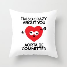 Swoonatic Throw Pillow