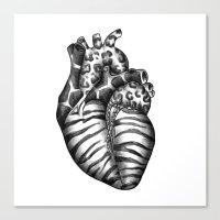 Heart Gone Wild Canvas Print