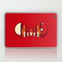 Poketryoshka - Fire Type Laptop & iPad Skin