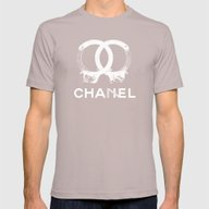 CHA7EL Mens Fitted Tee Cinder SMALL