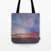 good vibes, good days Tote Bag