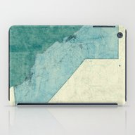California Map Blue Vint… iPad Case