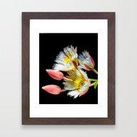 Bold And Wild Flowers Framed Art Print