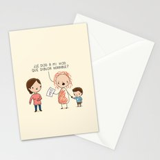 Dibuja horrible Stationery Cards
