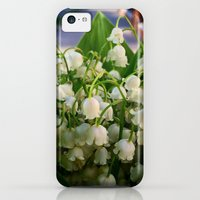 iPhone Cases featuring The lilies of the valley to my wife. by Mikhail Zhirnov