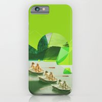 iPhone & iPod Case featuring Row Your Boat by Riley Lester
