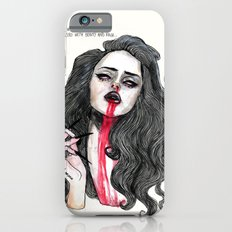 ''Cause I was filled with poison But blessed with beauty and rage'' iPhone 6 Slim Case