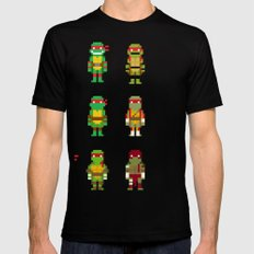 RAPH / TMNT SMALL Mens Fitted Tee Black