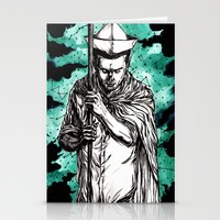 Hanging On  Stationery Cards