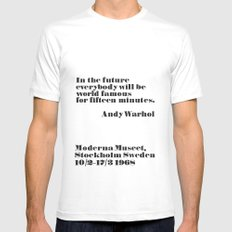 In the future Mens Fitted Tee White SMALL