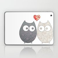 Owl Love Laptop & iPad Skin