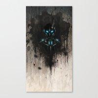 Armor Canvas Print