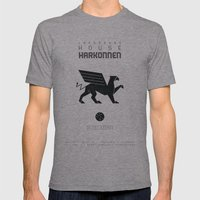 HOUSE HARKONNEN Mens Fitted Tee Athletic Grey SMALL
