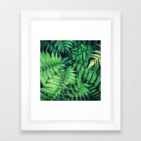 50 Shades of Green (1) Framed Art Print