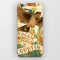 Froggie Went A-Courtin' iPhone & iPod Skin