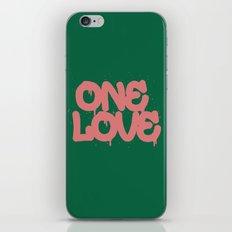 ONELOVE iPhone & iPod Skin
