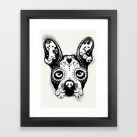 B.Terrier  Framed Art Print
