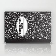 Composition Notebook College School Student Geek Nerd Laptop & iPad Skin