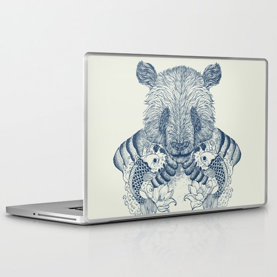 Panda Tattoo Laptop & iPad Skin