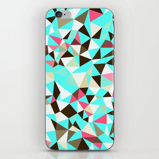 Cherry Mint Choco Tris iPhone & iPod Skin