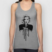 Avengers in Ink: Black Widow Unisex Tank Top