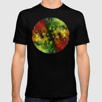 Cosmic Timewarp Mens Fitted Tee Black SMALL