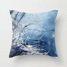 In Stormy Waters Throw Pillow