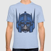 Robot In Disguies  Mens Fitted Tee Athletic Blue SMALL