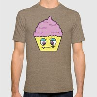 Cupcake Monster!  Mens Fitted Tee Tri-Coffee SMALL