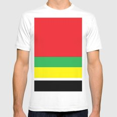 Marley bars White Mens Fitted Tee SMALL