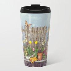 Spring Gardening Travel Mug