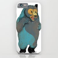 iPhone & iPod Case featuring Mr.Grizzly by Dushan Milic