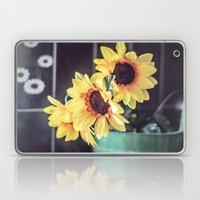Sunflowers In My Kitchen Laptop & iPad Skin