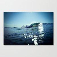 Estuary Light Flares Canvas Print