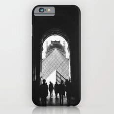 Through to Louvre (b&w) iPhone 6s Slim Case