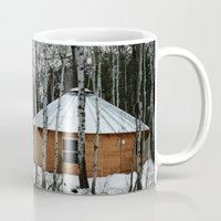 Yurt in the Birch Mug