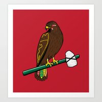 Blackhawk II Art Print