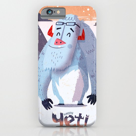 :::Happy Yetis::: iPhone & iPod Case