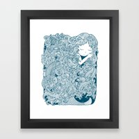 Mermaid Dreams Framed Art Print