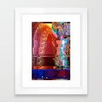 Creature Glitch #2 Framed Art Print