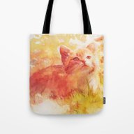 Tote Bag featuring Sun Kissed by Aurora Wienhold