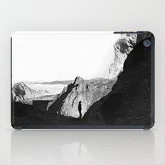 Man of isolation iPad Case