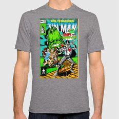 the Tenacious Tinman (COVER VARIANT) Mens Fitted Tee Tri-Grey SMALL