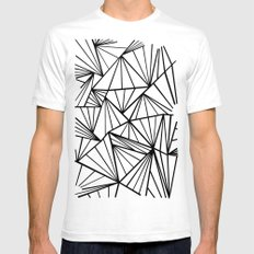 Ab Fan Zoom Invert  Mens Fitted Tee White SMALL