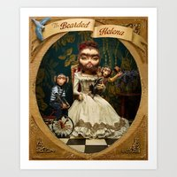 Bearded Helena Art Print