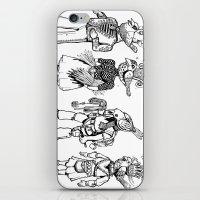 Birdheaded People iPhone & iPod Skin