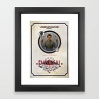 Empirical 'Elements of Truth' - Lewis Wright Framed Art Print