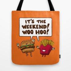The Weekend Burger Tote Bag