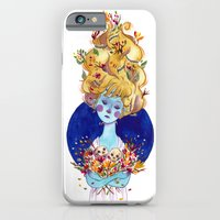 iPhone & iPod Case featuring The Cold Winter by Judith Chamizo